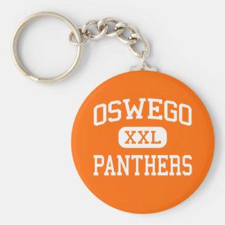 Oswego - Panthers - High School - Oswego Illinois Keychain