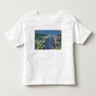 Oswego River, Locks, Harbor Entrance Toddler T-shirt