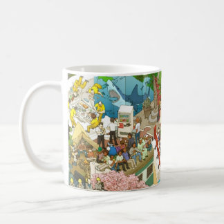 osyokuji_time_mug A Classic White Coffee Mug