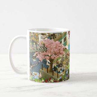 osyokuji_time_mug B Classic White Coffee Mug