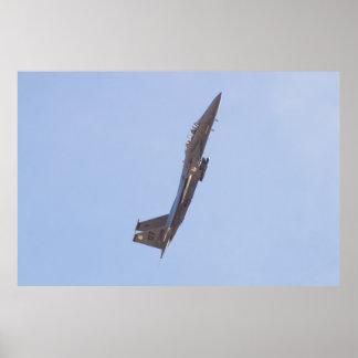 OT AF 96-0200 F-15E Strike Eagle Poster