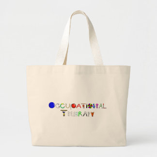 OT at Work Large Tote Bag