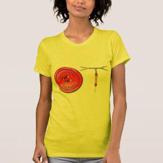 OT Button and Zipper T-Shirt