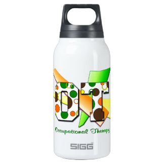 OT circles and dots Insulated Water Bottle