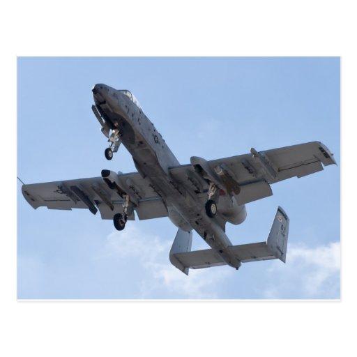 OT F 79 0199 A-10 Thunderbolt II Approach Postcard