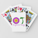 OT Flower Power Pink and Purple Deck Of Cards