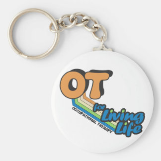 OT for Living Life Basic Round Button Keychain