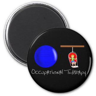 OT Initials 2 Inch Round Magnet