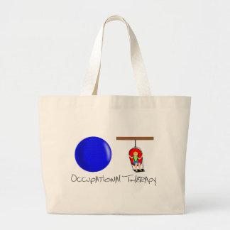 OT Initials Jumbo Tote Bag