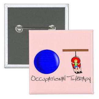 OT Initials Pinback Button