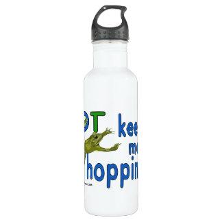 Ot keeps me hopping stainless steel water bottle