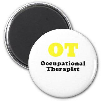 OT Occupational Therapist 2 Inch Round Magnet