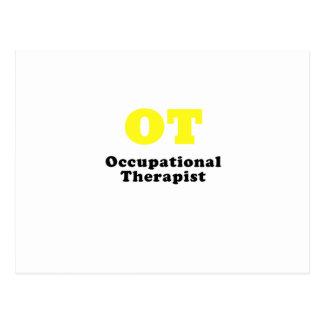 OT Occupational Therapist Postcard