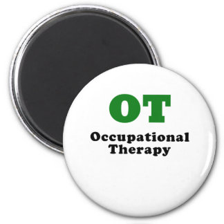 OT Occupational Therapy 2 Inch Round Magnet