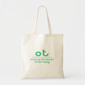 OT Occupational Therapy Budget Tote Bag