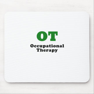 OT Occupational Therapy Mouse Pad