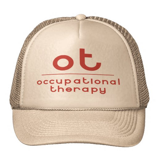 OT Occupational Therapy Trucker Hats