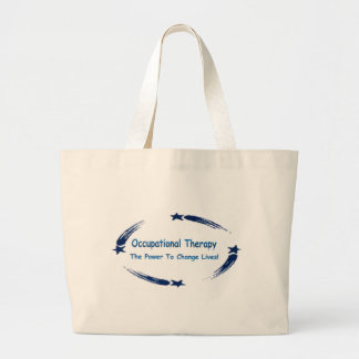 OT Power To Change Lives Large Tote Bag
