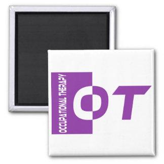 ot purple 2 inch square magnet