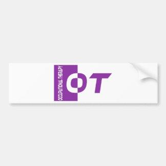 ot purple bumper sticker