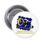 ot puzzle blue and gold pins