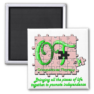 ot puzzle pink and green magnets