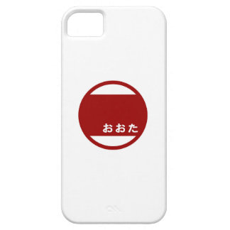 Ota city flag Gunma prefecture japan symbol iPhone SE/5/5s Case
