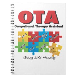 OTA - Cuaderno-COTA del ayudante de la terapia pro Libreta