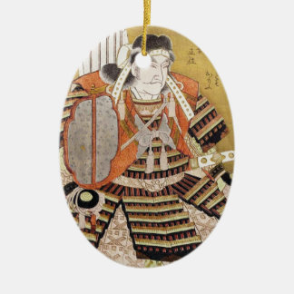 Ôta Dôkan, from the series Warriors as Six Poetic Ceramic Ornament
