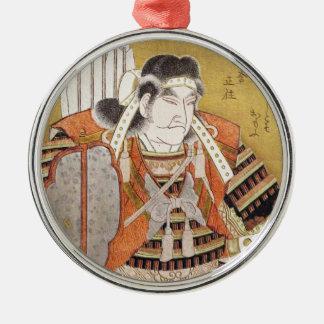 Ôta Dôkan, from the series Warriors as Six Poetic Metal Ornament