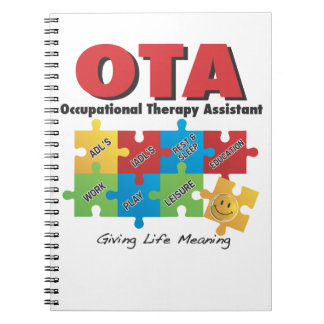 OTA - Occupational Therapy Assistant Notebook-COTA Notebook
