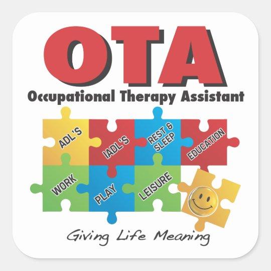 ota - occupational therapy assistant sticker -cota | zazzle, Human Body