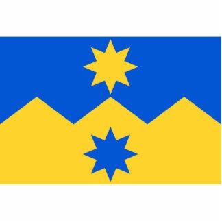Otago, bandera de Nueva Zelanda Escultura Fotografica