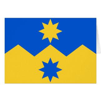 Otago, New Zealand flag Card