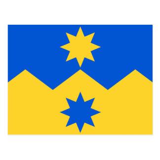 Otago, New Zealand flag Postcard