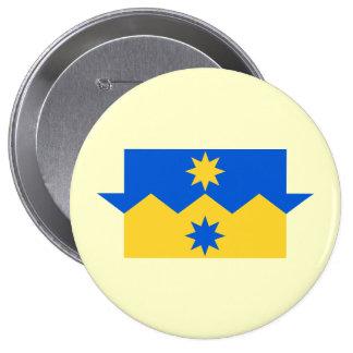 Otago, Nueva Zelanda Pin Redondo De 4 Pulgadas