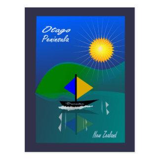 OTAGO PENINSULA DUNEDIN NZ POSTCARD
