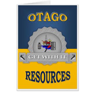 OTAGO RESOURCES CARD