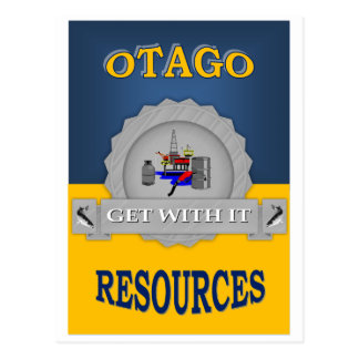 OTAGO RESOURCES POSTCARD