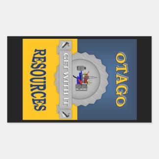OTAGO RESOURCES RECTANGULAR STICKER
