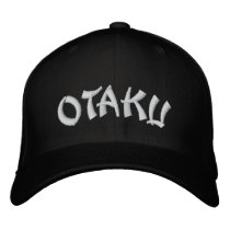 Otaku おたくオタク embroidered baseball hat