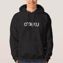Otaku hoodie - black