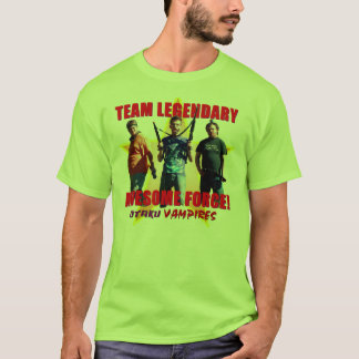 Otaku Vampires Team Legendary Awesome Force Green T-Shirt