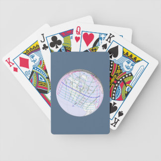 otal Solar Eclipse 2017 Global Path Bicycle Playing Cards
