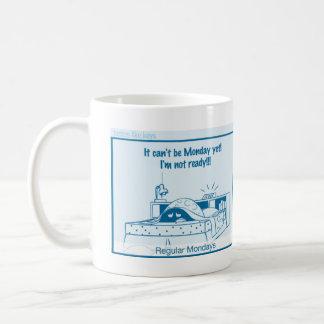 Otalia comic - Case of the Mondays Coffee Mug