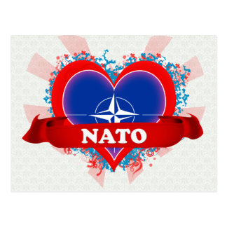 OTAN del amor del vintage I Postal