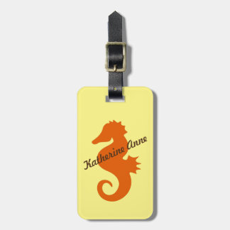 Otange Seahorse Custom Bag Tag