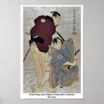 Otani Oniji e Ichikawa OmezoIby Toshusai Sharaku Posters