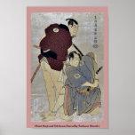Otani Oniji e Ichikawa OmezoIby Toshusai Sharaku Impresiones