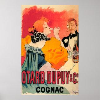 Otard-Dupuy & CO. Cognac Promotional Poster
